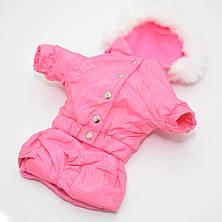 Комбинезон для собак Сильвер розовый, фото 3