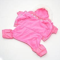 Комбинезон для собак Сильвер розовый, фото 2