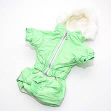 Комбінезон для собак Сільвер салатовий, фото 3