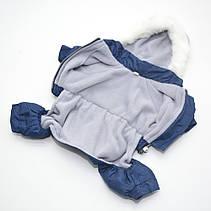 Комбінезон для собак Сільвер синій, фото 2