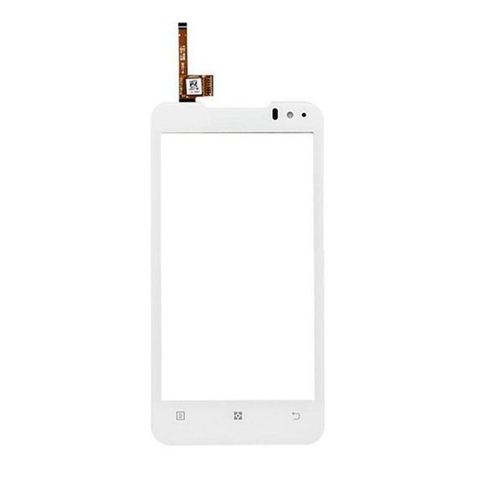 Сенсорний екран для смартфону Lenovo P770, тачскрін білий
