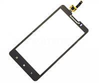 Сенсорный экран для смартфона Lenovo P780, тачскрин черный