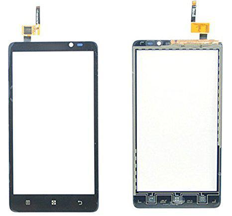 Сенсорний екран для смартфону Lenovo S890, тачскрін чорний