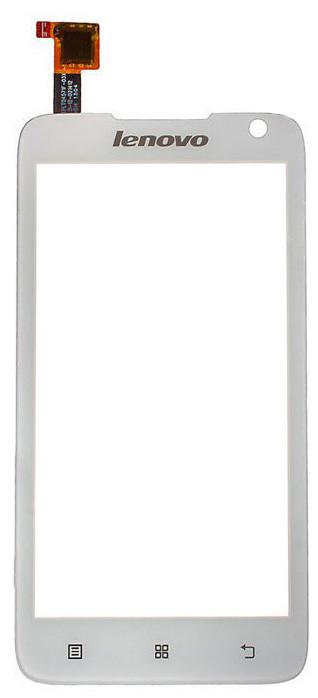 Сенсорний екран для смартфону Lenovo A526, тачскрін білий