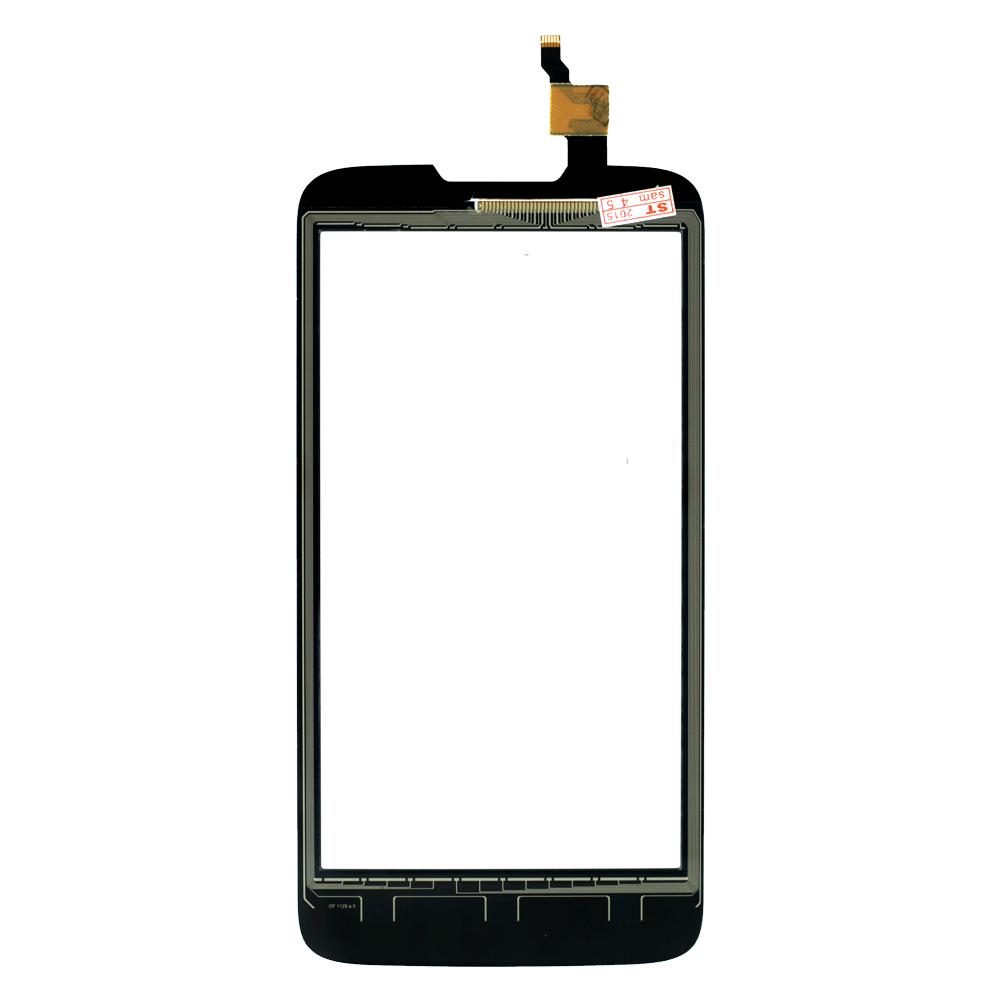 Сенсорний екран для смартфону Lenovo A680 тип 1, тачскрін чорний