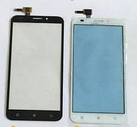 Сенсорний екран для смартфону Lenovo A916, тачскрін білий