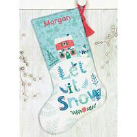 Набор для вышивания крестом Holiday Home Stocking/Праздничный дом 70-08975