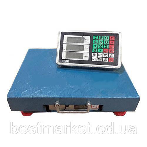 Торговые весы TCS-K 300кг 40*50 (4V) Iron