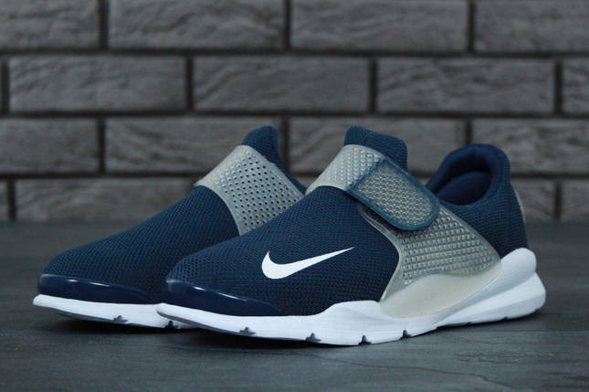 Кроссовки мужские Nike Air Presto нави топ реплика , фото 2