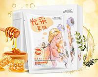 Маска для лица с экстрактом меда и зеленого чая