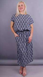 Мрия. Легкое платье для женщин плюс сайз.