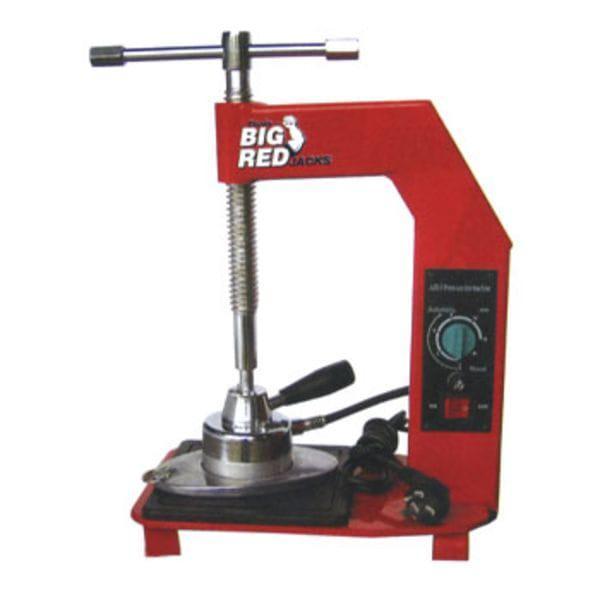 Вулканизатор с винтовым прижимом, температурный контроллер, настольный, 1 нагревательная пластина, TRAD001 TORIN