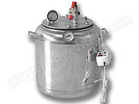 Автоклав для консервирования из нержавейки (8 банок, электро нагрев)