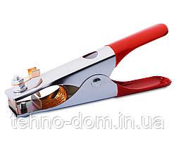 Клемма массы 300A красные ручки (малая) VITA длина 17 см