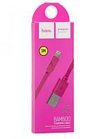 Кабель USB-LIGHTNING HOCO X5 BAMBOO iPhone (розовый)