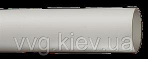 Труба гладкая жесткая ПВХ d 25 серая 60 м, 3 м IEK