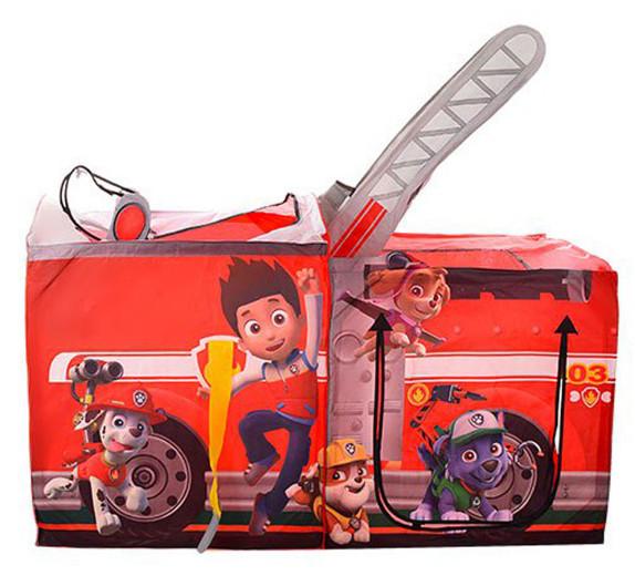 Дитячий намет Щенячий патруль Пожежна машина М 3528