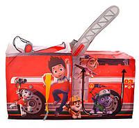 Дитячий намет Щенячий патруль Пожежна машина М 3528, фото 1