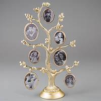 Золотистое семейное родовое дерево на 14 фото