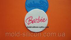 """Силиконовый штамп """"Барби 1"""""""
