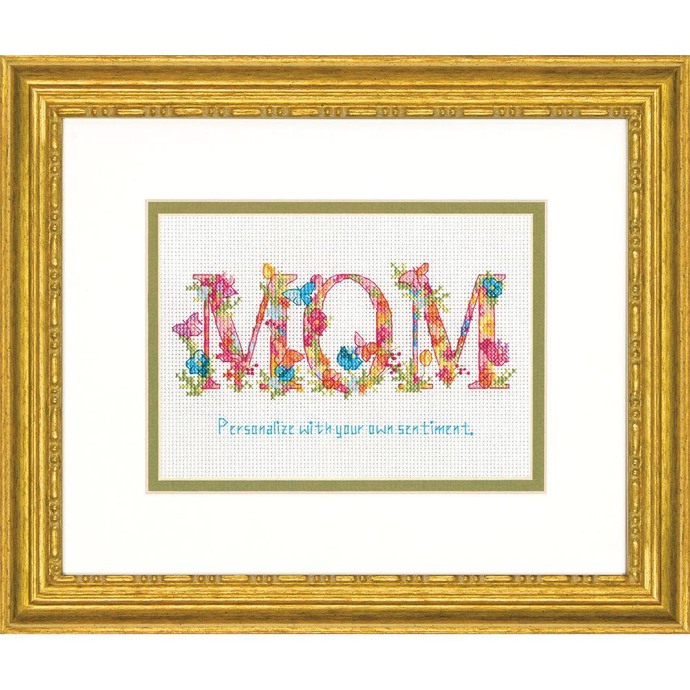 Набор для вышивания крестом Мама/Mom DIMENSIONS 70-65180