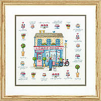 Набор для вышивания крестом Кондитерская/Cake Shop DIMENSIONS 70-35352