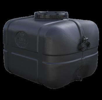 Бочка непищевая прямоугольная черная 100 литров