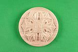 Мебельная накладка Розетка круглая. Код Р40, фото 3