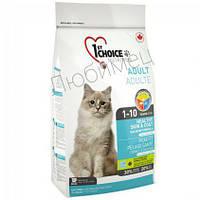 Сухой корм для взрослых кошек с лососем 0,907 кг 1st Choice Healthy Skin & Coat