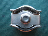 Нержавеющий одинарный зажим SIMPLEX для троса, А4 (AISI 316)., фото 4