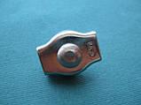 Нержавеющий одинарный зажим SIMPLEX для троса, А4 (AISI 316)., фото 3
