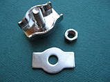 Нержавеющий одинарный зажим SIMPLEX для троса, А4 (AISI 316)., фото 2