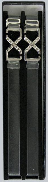 Бретельки тканевые Acousma (038) силиконовые