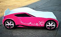 Кровать-машина для девочки Subaru WRX Спальное место 150*70 см