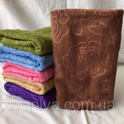 Полотенце рушник Роза, 75*35 см