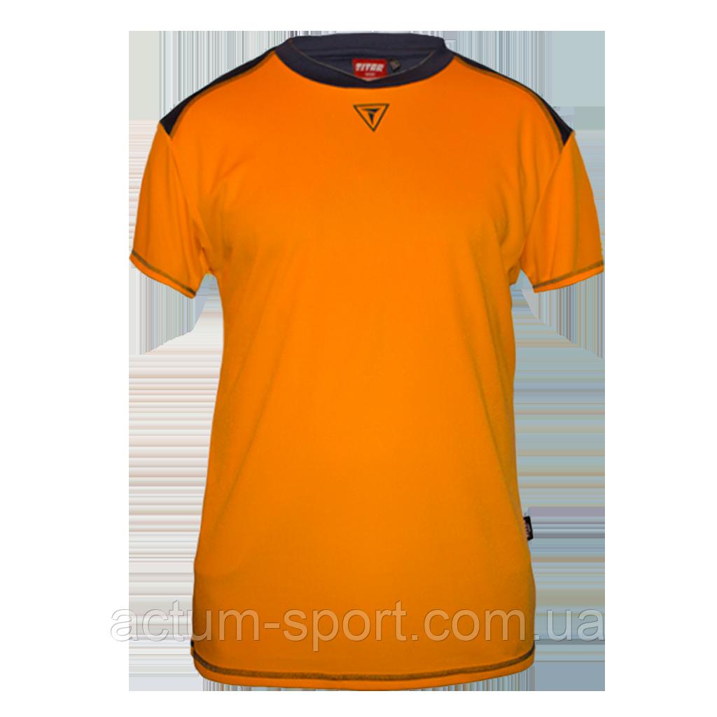 Футболка игровая Dinamo Titar Оранж/черный, XXL