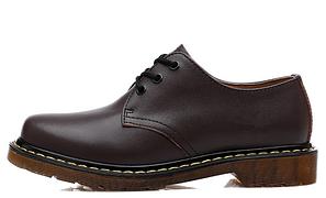 Черевики черевики туфлі Dr.Martens 1461 (КОРИЧНЕВІ) Розмір 41 42 43 44 45