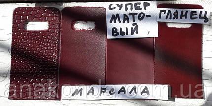 242 Сумка-шоппер женская натуральная кожа, марсала , фото 3