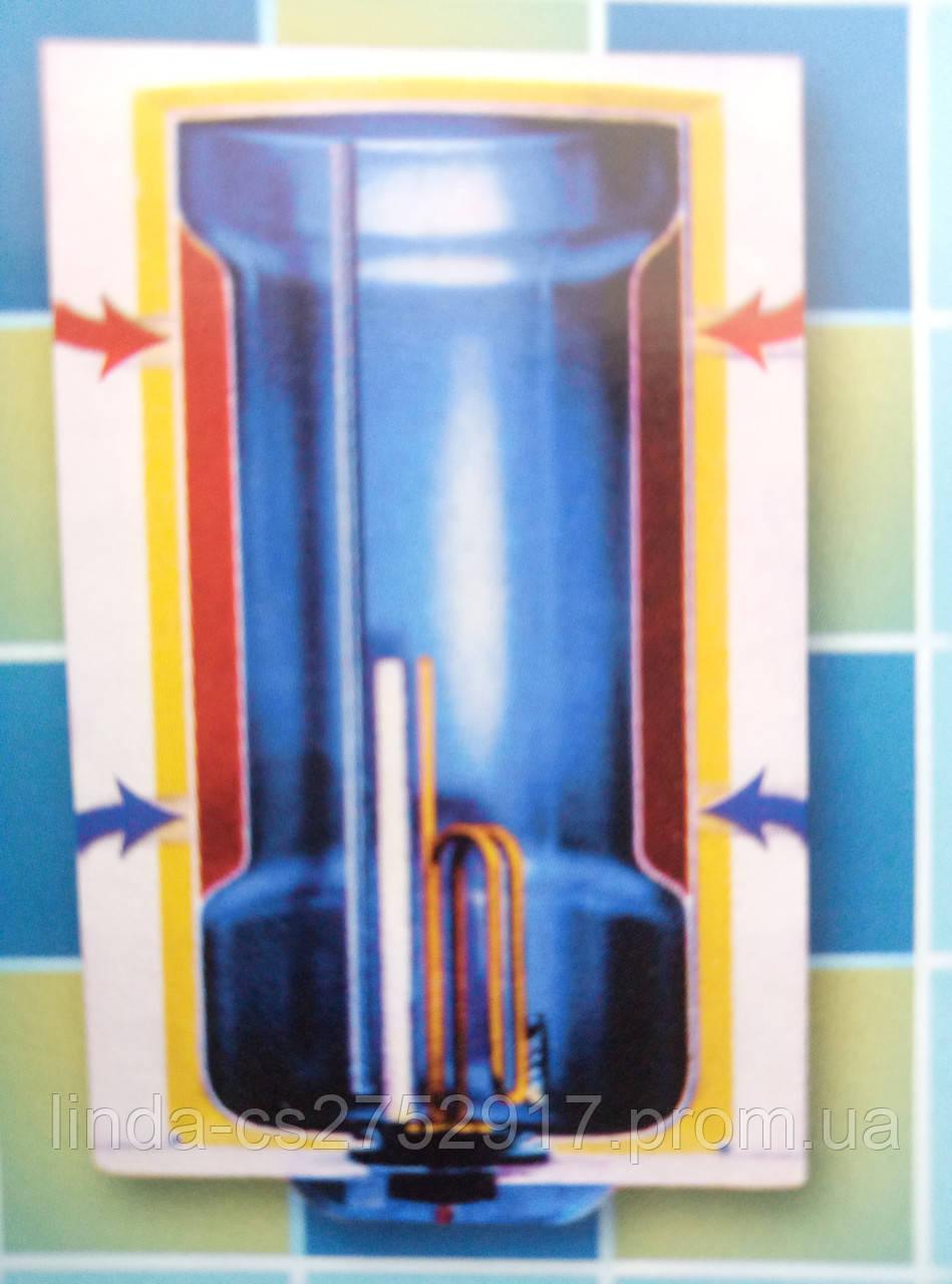 Водонагреватель Areesta Water heater 100 I C Kombi. 2 Квт Мокрый тен.Купить в Одессе комбинированный бойлер.