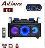 Портативный бумбокс караоке Ailiang UF-1505KD-DT сабвуфер USB\ Bluetooth\ FM-тюнер\ Пульт ДУ ( Реплика ), фото 2