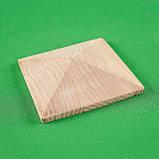 Пирамидка мебельная. Резьба по дереву.  Код Р41, фото 2