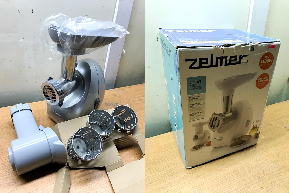 М'ясорубка ZELMER 886.84 Silver