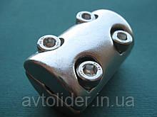 Нержавеющее усиленное зажимное кольцо для троса, А4 (AISI 316).