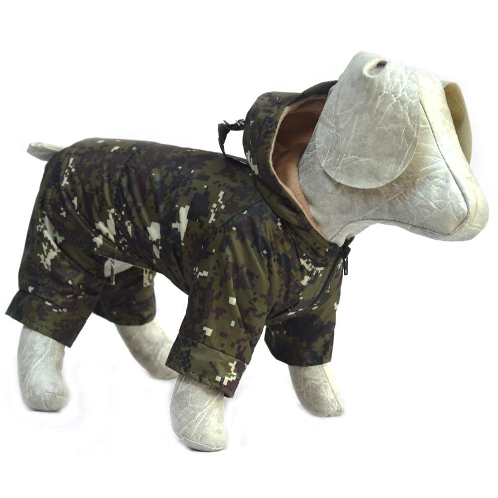 Костюм для собак Камуфляж пиксель