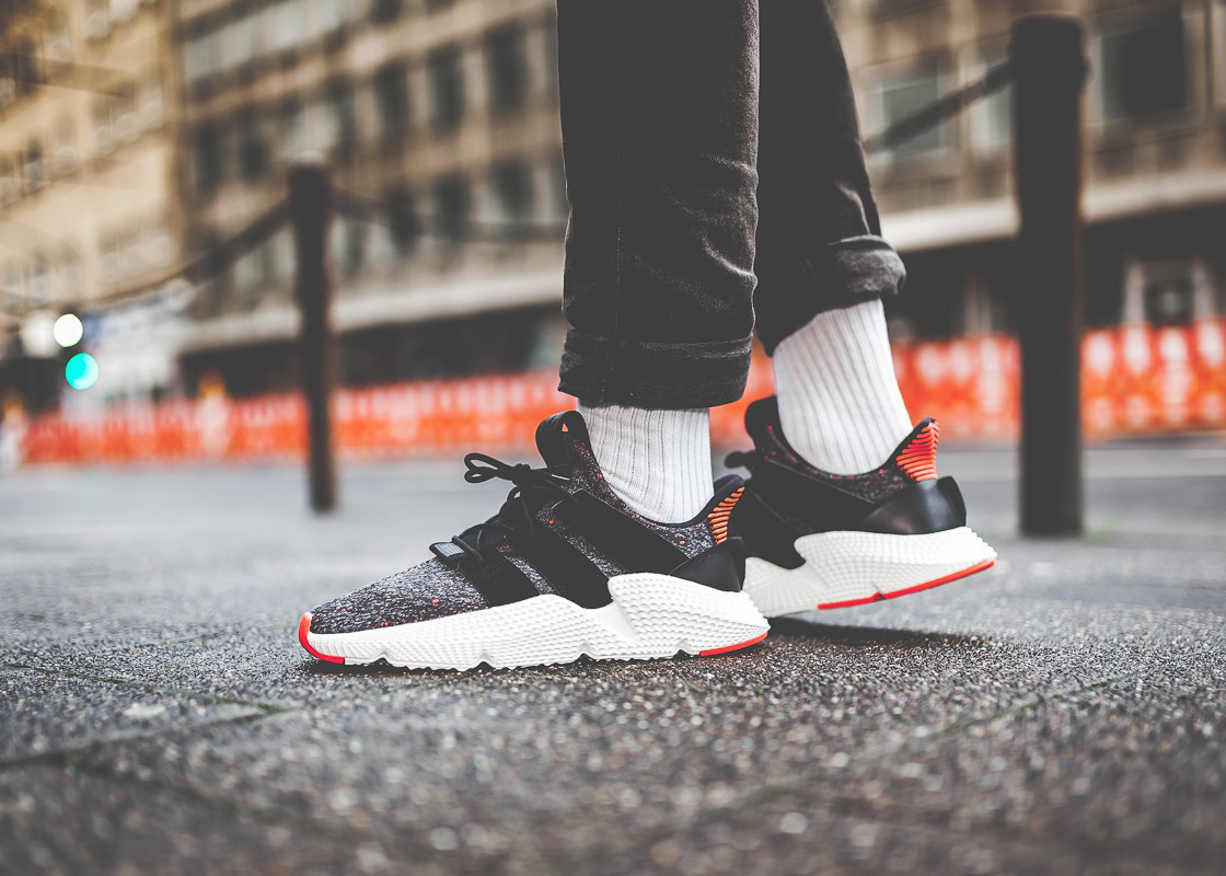 adidas Prophere shoes black red