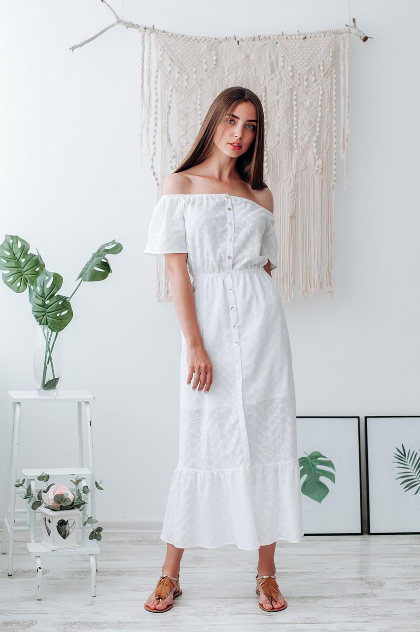 Летнее платье из батиста
