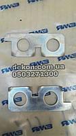 Пластина замковая маховика правая  ЯМЗ 236-1005128-А  производство ЯМЗ