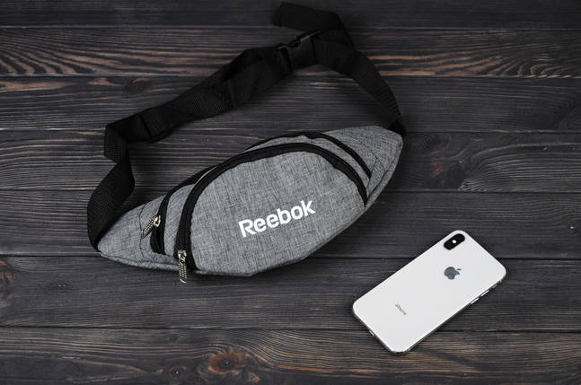 Сумка на пояс Reebok, поясная сумка, бананка, фото 2