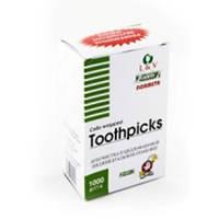 Зубочистка в индивидуальной упаковке из полиэтилена с ментолом, 1000 шт/уп.