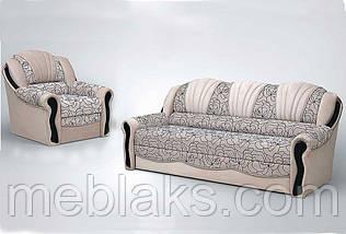 Комплект диван + 2 кресла  Лидия (алеко)   Udin, фото 2